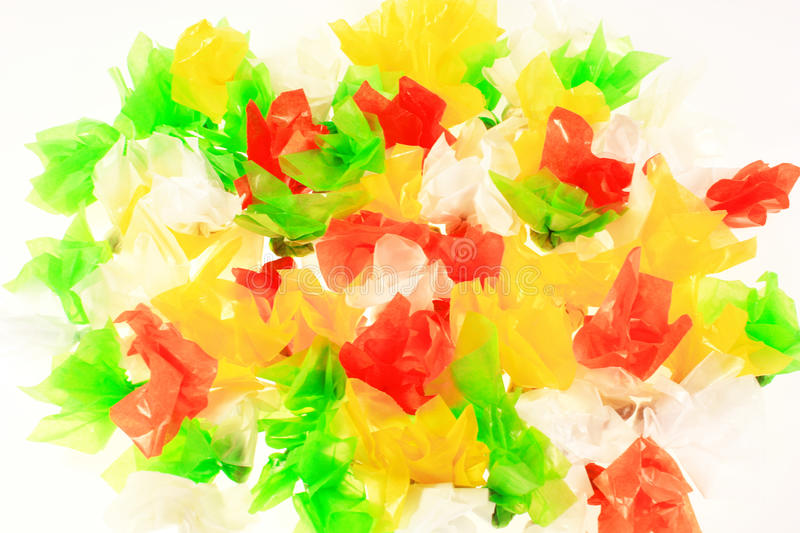 Thai Caramel candies, Coconut toffee royalty free stock photography