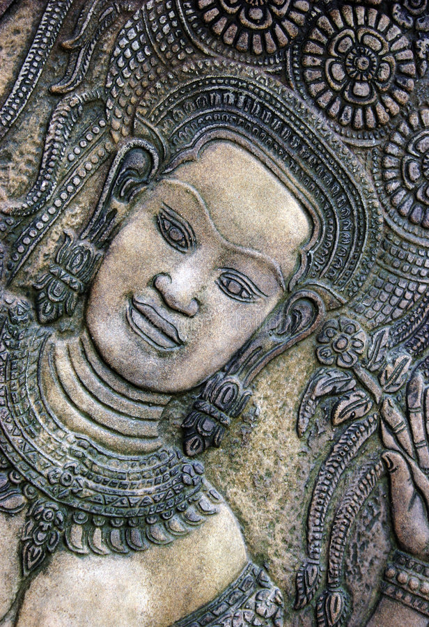 Thai Carving Royalty Free Stock Photos