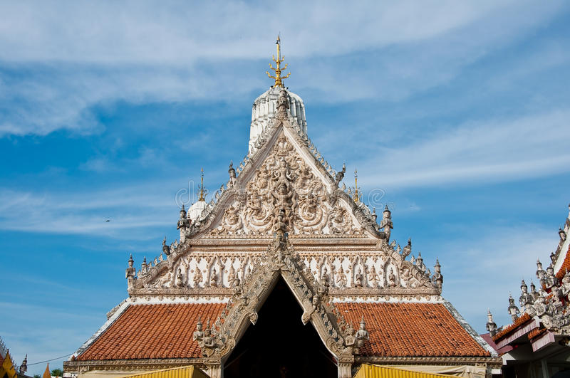Thai Chapel stock image