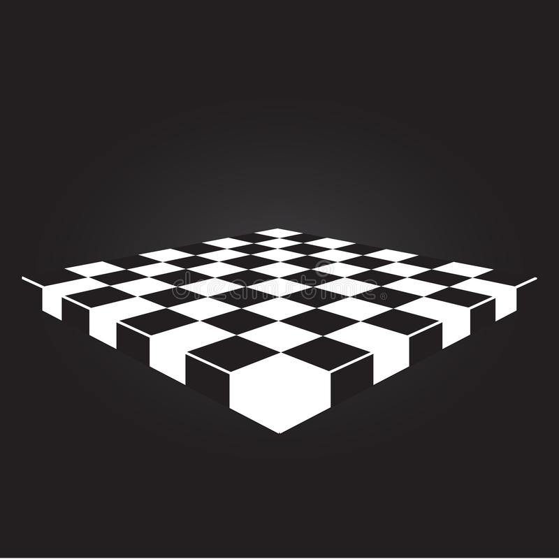 Thai checkers board. Vector design 2015 royalty free illustration