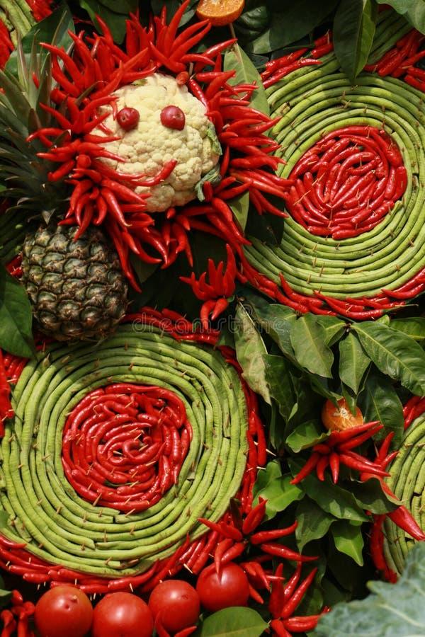 Thai chili and vegetable for Thai kitchen stock image