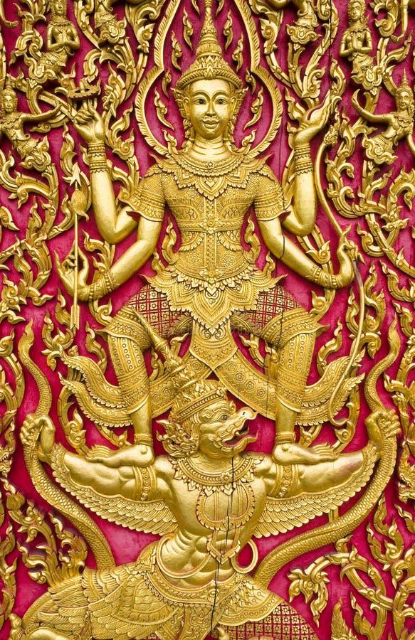 Free Thai Church Door Stock Image - 15708741