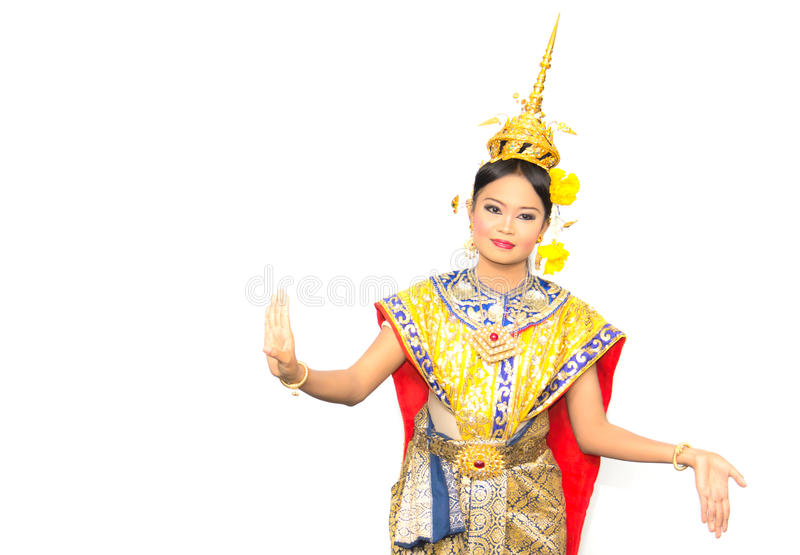 Download Thai classical dance stock image. Image of thailand, princess - 21233443
