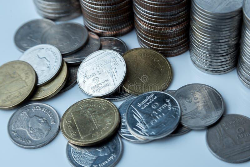 Thai coins bath .King Rama 9. royalty free stock photos