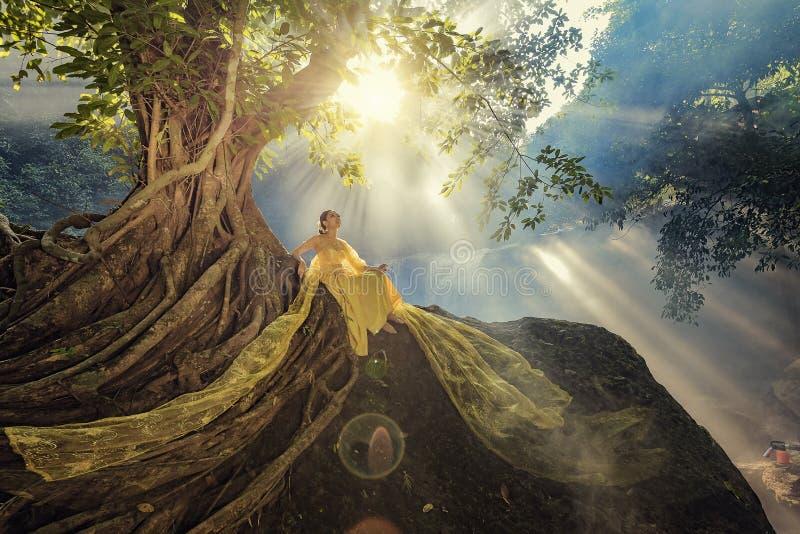 Thai costume royalty free stock photos