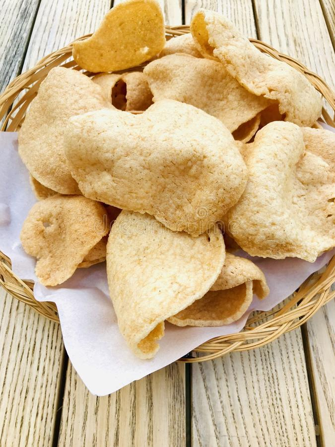 Thai crackers stock images