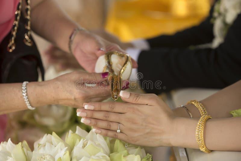 Thai Culture Thai Wedding Stock Photo Image of decoration