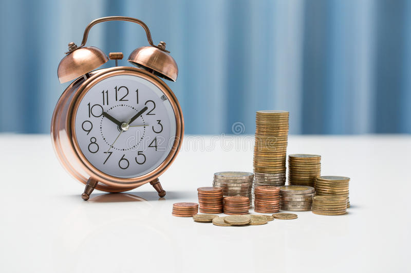 Thai currency exchange rate concept, fund information business i stock photography