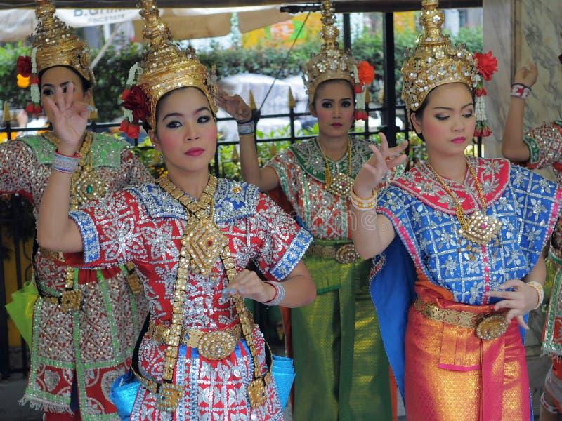 Thai Dancers Editorial Stock Photo
