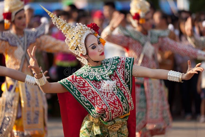 Download Thai dansare redaktionell bild. Bild av lady, kvinnlig - 19792571