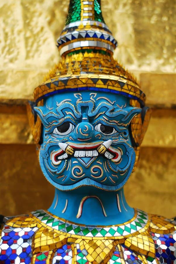 Thai demon royalty free stock photo