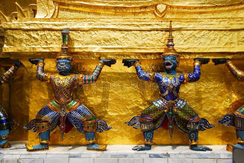 thai demon royaltyfri foto