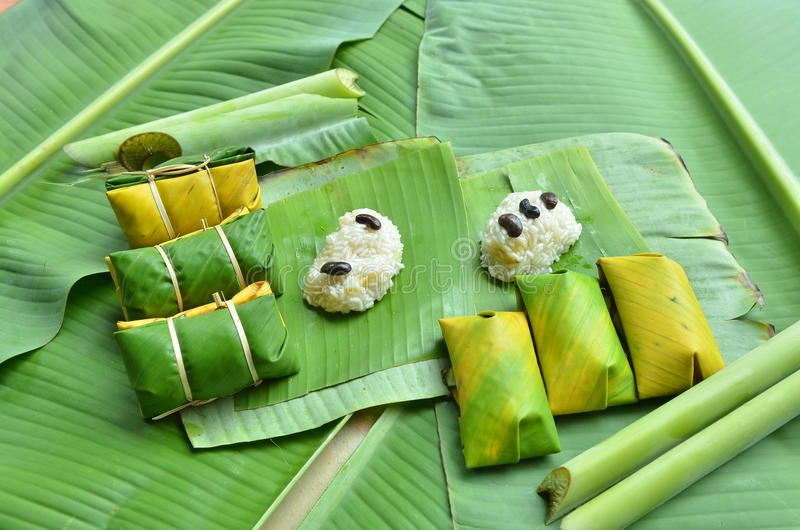 Thai dessert at Thailand by Thai people royalty free stock photography