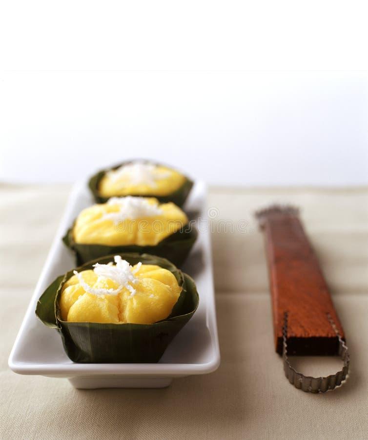Thai Dessert Toddy Palm Cake (Khanom Tan) royalty free stock images