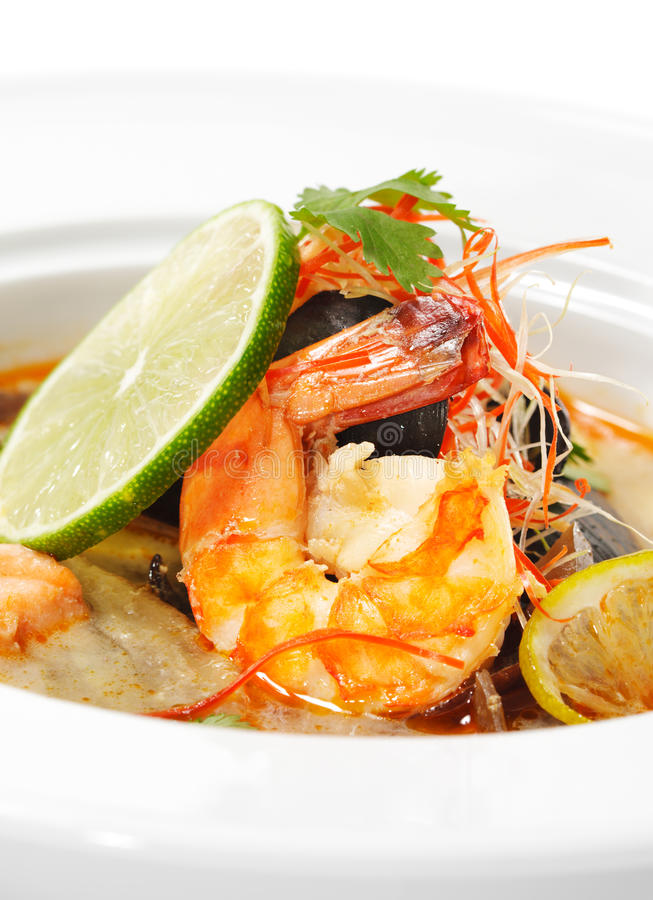 Download Thai Dishes - Tom Yam Kung stock photo. Image of cook - 10129198