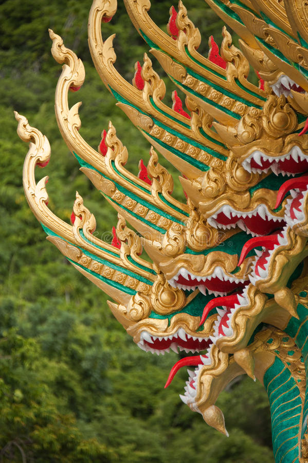 Free Thai Dragons Royalty Free Stock Photography - 22669007