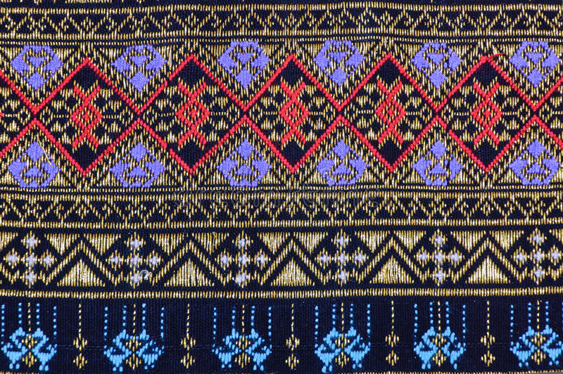 Download Thai fabric pattern stock image. Image of cultural, oriental - 23132581