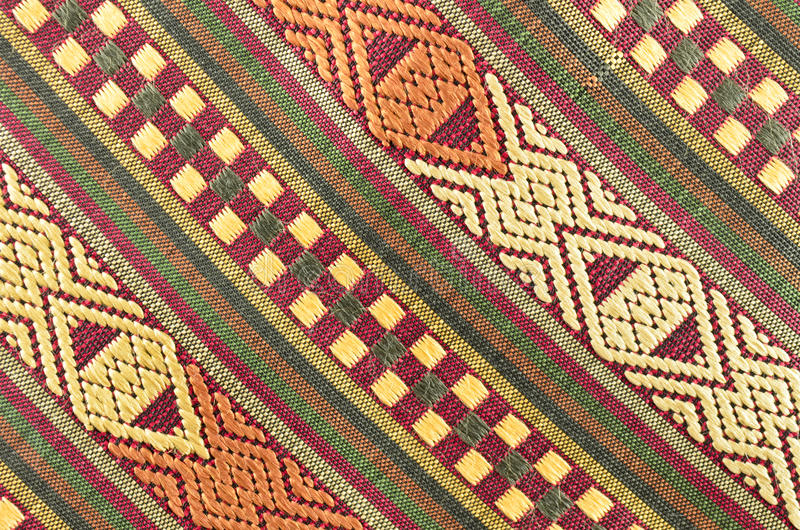 Download Thai fabrics patterns stock image. Image of closeup, natural - 26854119