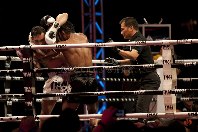 Download Thai Fight editorial image. Image of kickboxing, mauy - 22503855