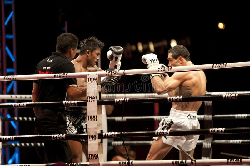 Download Thai Fight editorial stock photo. Image of fight, muay - 22503908