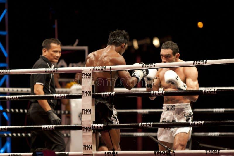 Thai Fight Editorial Stock Image