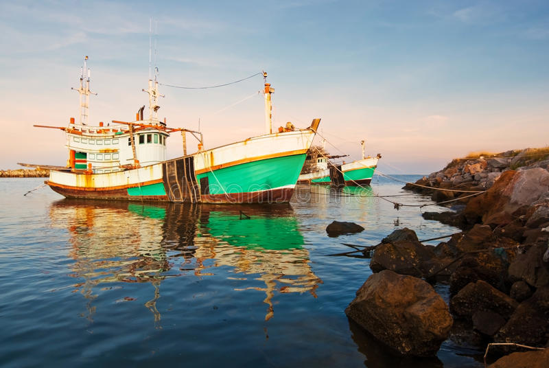 Download Thai fishing boat stock image. Image of image, anchor - 28286461