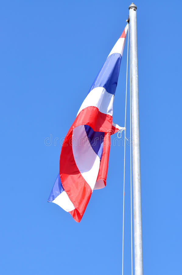 Thai Flag Of Thailand Royalty Free Stock Images