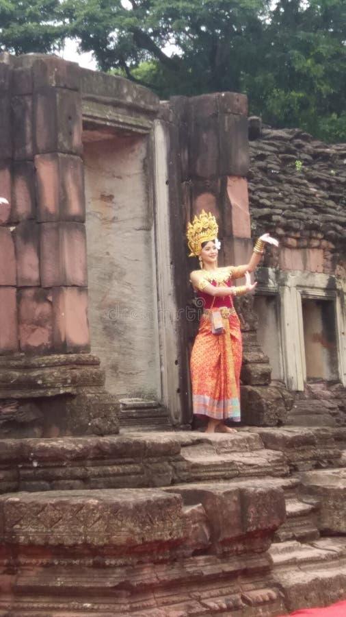 thai flicka royaltyfria bilder