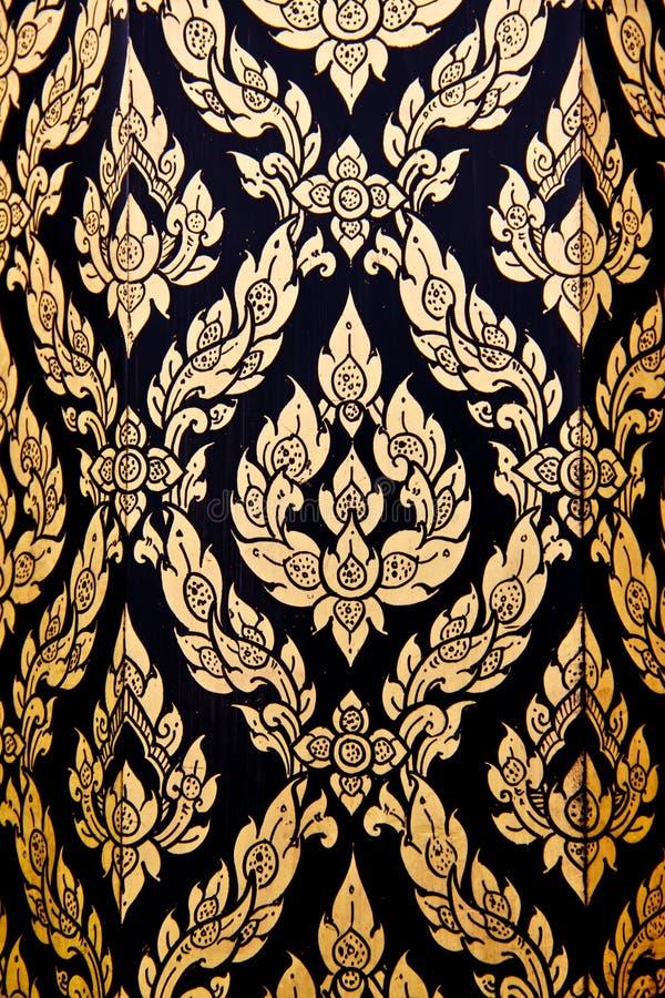 Thai flower pattern
