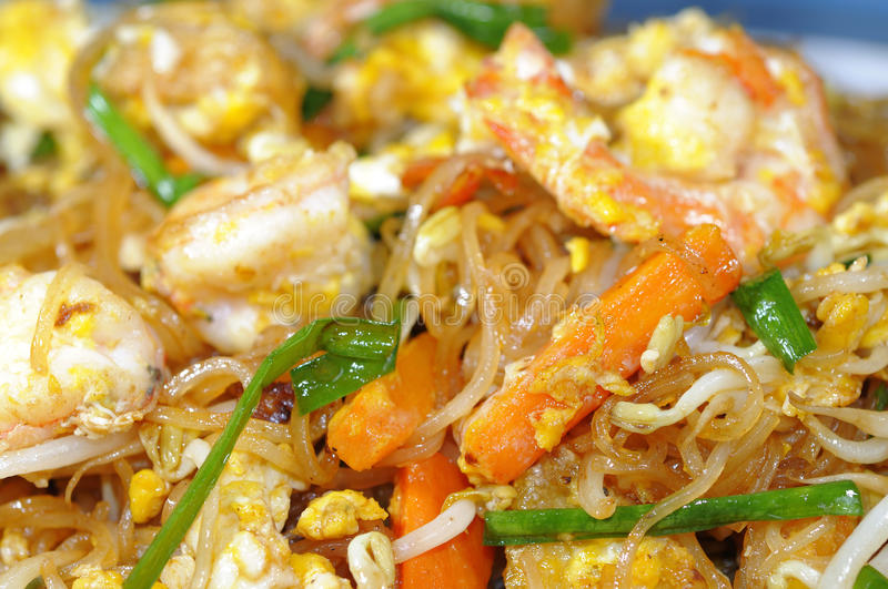 Download Thai food stock photo. Image of white, noodle, dish, food - 16350918