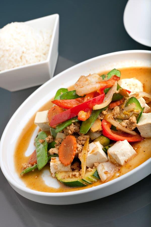 Free Thai Food And Jasmine Rice Stock Photos - 18570403
