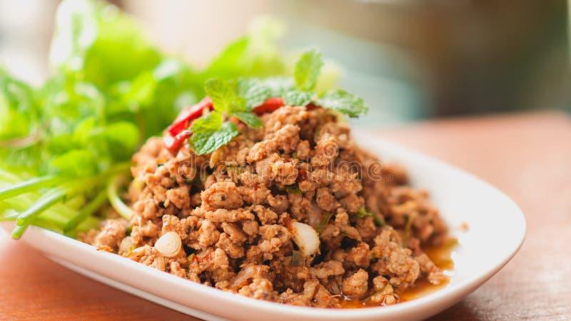 Thai food. Food thai healthy pig hot stock images