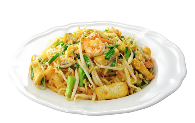 Thai food Pad thai stock image