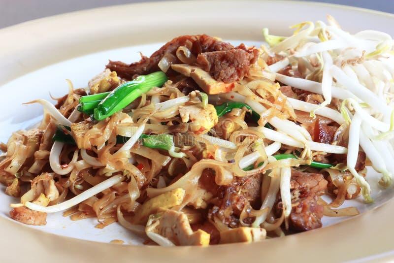 Thai food Pad thai royalty free stock image
