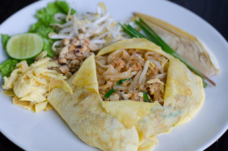 Thai food Pad thai stock photography