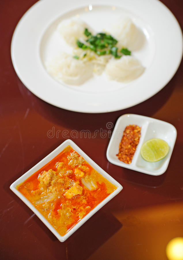 Download Thai Food Red Curry stock image. Image of dinner, coconut - 23057453