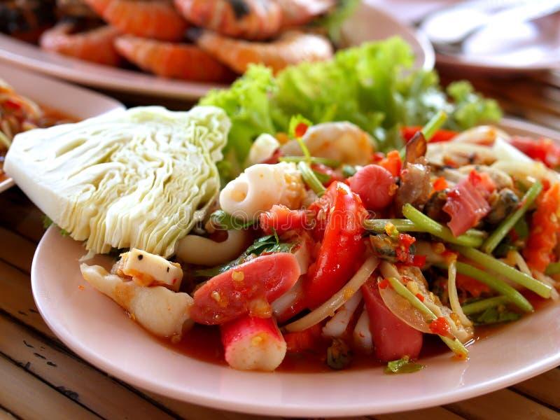Thai food / somtum 05 royalty free stock photo