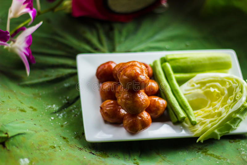 Thai Food. In thailand ,thai culture stock photography
