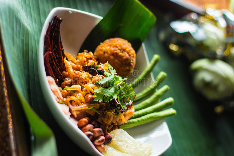 Thai Food. In thailand ,thai culture royalty free stock image