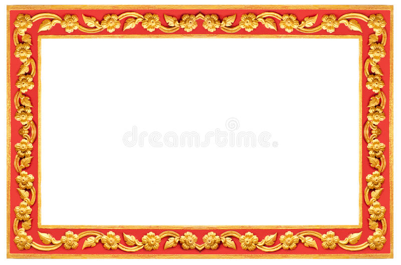Thai frame stock photography