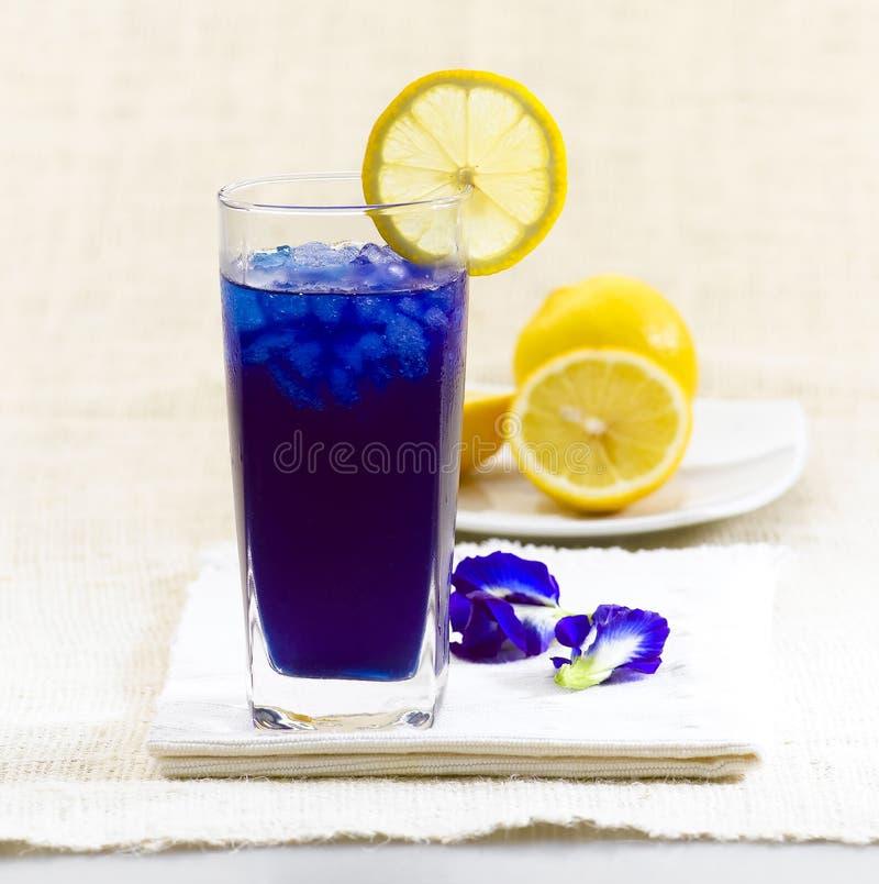 Download Thai Fresh Herb Juice, Pea Flowers Stock Photo - Image: 21589148