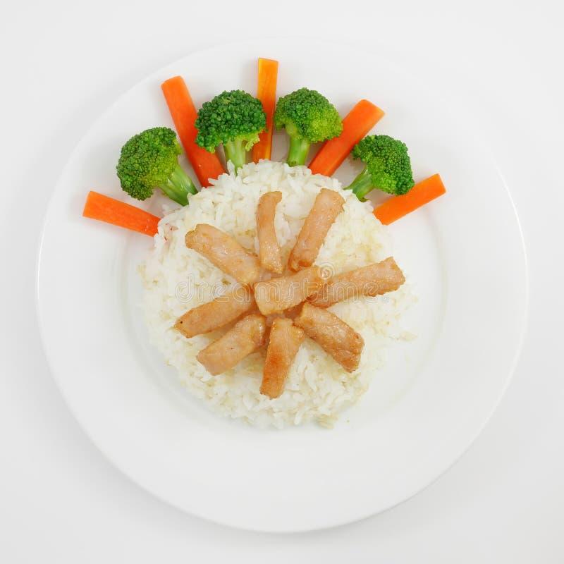 Download Thai fried pork on rice stock photo. Image of restaurant - 63141624 & Thai fried pork on rice stock photo. Image of restaurant - 63141624