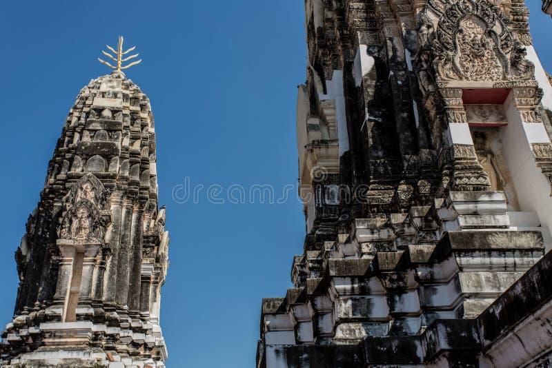 thai gammalt tempel royaltyfria foton