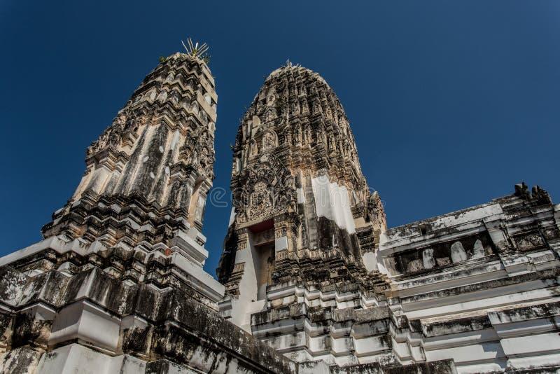 thai gammalt tempel fotografering för bildbyråer
