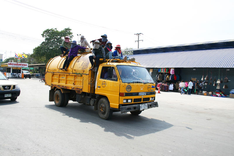 Download Thai Garbage Truck Editorial Photo - Image: 18265621
