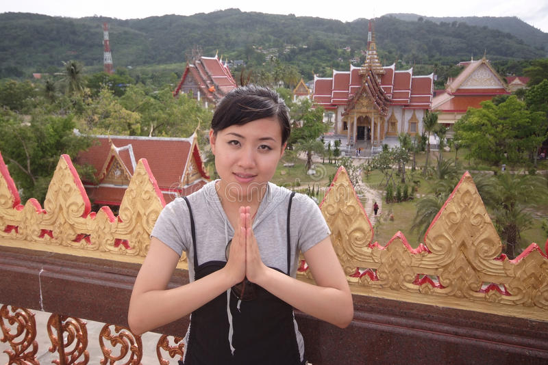 Download Thai Girl stock image. Image of thai, smile, culture - 10741241