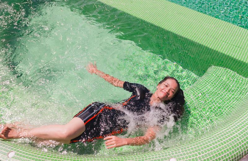 Download Thai Girl Portrait stock photo. Image of resting, scene - 31478674
