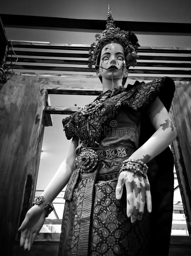 Thai Halloween ghost figures royalty free stock photo