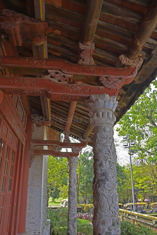 Thai Hoa Palace stock photography