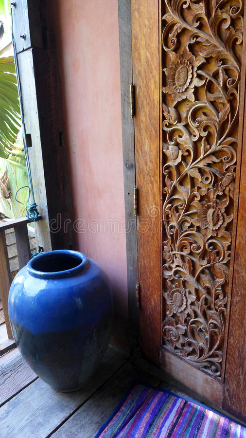 Thai house decor stock photo image of craft ceramic for Thailand home decor